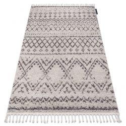 Teppich BERBER RABAT G0526 sahne / braun Franse berber marokkanisch shaggy zottig