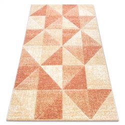 Teppich FEEL 5672/17911 Dreiecke beige/terrakotta