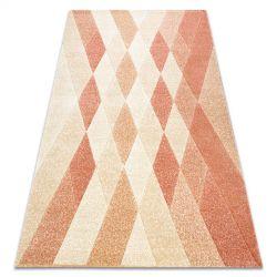 Teppich FEEL 5674/17911 Diamanten beige/terrakotta