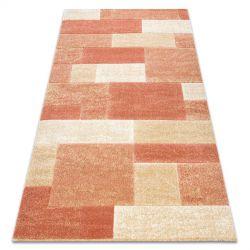 Carpet FEEL 5956/17951 Rectangles beige/terracotta