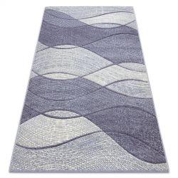 Carpet FEEL 5675/17944 Waves beige/violet