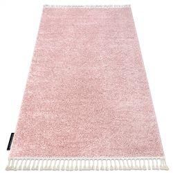 Teppich BERBER 9000 rosa Franse berber marokkanisch shaggy