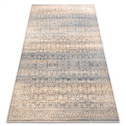 Teppich Wolle NAIN Ornament vintage 7594/50955 beige / dunkelblau