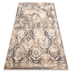 Teppich Wolle NAIN Ornament vintage 7601/50977 beige / dunkelblau