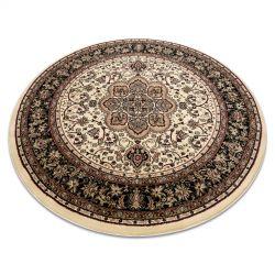 Kulatý koberec ROYAL ADR model 521 karamel