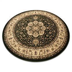 Kulatý koberec ROYAL ADR model 521 zelený