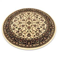 Kulatý koberec ROYAL ADR model 1745 karamel