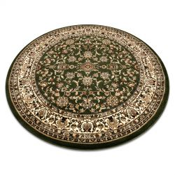Kulatý koberec ROYAL ADR model 1745 zelený