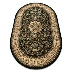 Carpet ROYAL ADR oval design 521 green