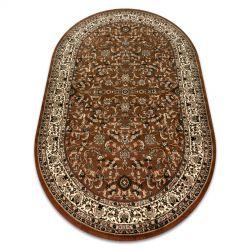 Carpet ROYAL ADR oval design 1745 brown