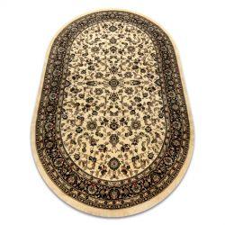 Carpet ROYAL ADR oval design 1745 caramel