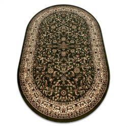 Carpet ROYAL ADR oval design 1745 green