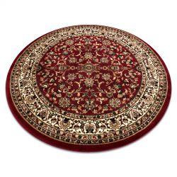 Kulatý koberec ROYAL ADR vzor 1745 bordó