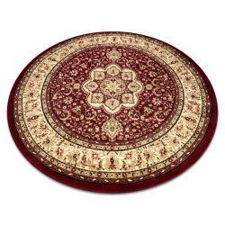 Kulatý koberec ROYAL ADR vzor 521 bordó
