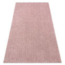 Alfombra moderna y lavable LATIO 71351022 rubor rosado