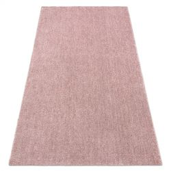 современный моющийся ковёр LATIO 71351022 красновато-розовый