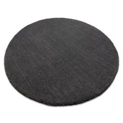 Tapete de lavagem moderno LATIO 71351100 circulo cinzento