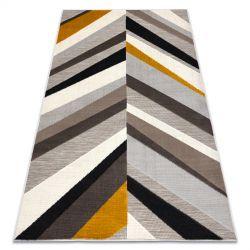 Carpet LISBOA 27237655 Herringbone Chevron grey / yellow