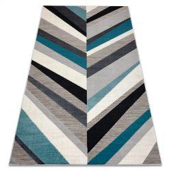 Carpet LISBOA 27237654 Herringbone Chevron grey / blue