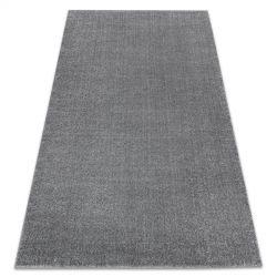 Carpet SOFT 2485 plain, one colour grey