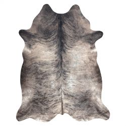 Carpet Artificial Cowhide, Cow G5067-4 Grey Leather