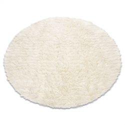 Flokati WOOLEN circle