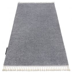 Carpet BERBER 9000 light grey Fringe Berber Moroccan shaggy