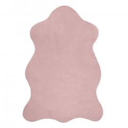 Koberec NEW DOLLY kůže G4337 růžový IMITACE RABBIT FUR