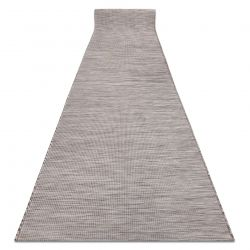 Corredor plano de tecido SISAL PATIO desenho uniforme 2778 bege
