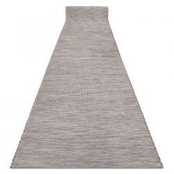 Въжена, плоско тъкана Пътека PATIO Sizal еднороден, шарка 2778 бежов