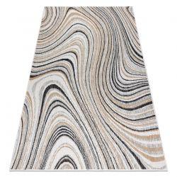 Carpet SISAL COOPER Abstraction 22207 ecru / black