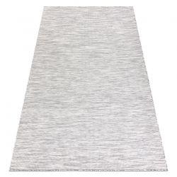 Fonott sizal szőnyeg PATIO 2778 lapos szövött szürke