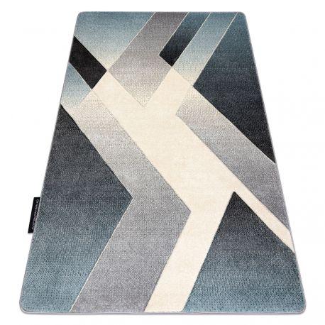 Tapijt ALTER Wild Geometrisch , blauw / grijskleuring