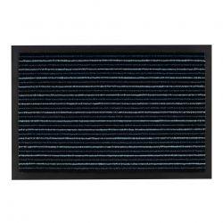 Придверний килим прорезинений TANGO синій