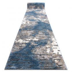 Chodnik COZY 8876 Rio - Strukturalny, dwa poziomy runa niebieski