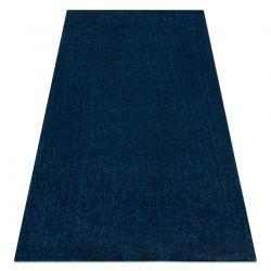 Tapis moderne lavable LATIO 71351090 bleu foncé