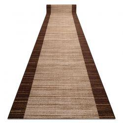 Csúszásgátló futó szőnyeg STREIFEN barna