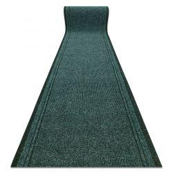 Lábtörlő csúszásgátló futó szőnyeg MALAGA zöld 6059