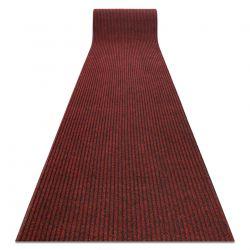 Runner - Doormat antislip GIN 3086 outdoor, indoor liverpool red