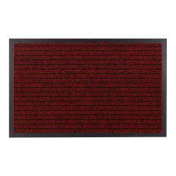 Wycieraczka DURA 3879 antypoślizgowa, zewnętrzna, wewnętrzna, na gumie - czerwony
