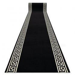 TAPIS DE COULOIR BCF BASE Greek 3991 grec Cadre noir / ivoire