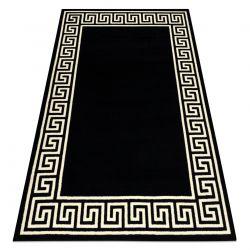 Bcf szőnyeg BASE Greek 3991 görög Keret, fekete / elefántcsont