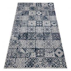 Carpet HEOS 78586 cream / blue PATCHWORK, LISBON TILES