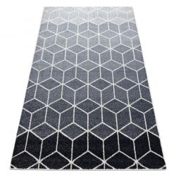 Carpet HEOS 78590 cream / silver / anthracite CUBE