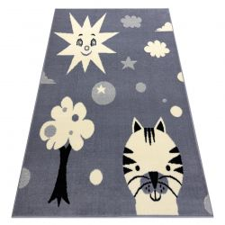 Carpet BCF FLASH Smile 3992 - Sun grey
