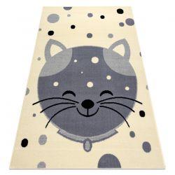 Dywan BCF FLASH Kitten 3998 - Kotek krem / szary