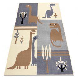 Carpet BCF FLASH Dinosaur 3994 - grey