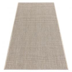 CARPET SIZAL FLOORLUX 20580 plain, flat, one colour - champagne / taupe