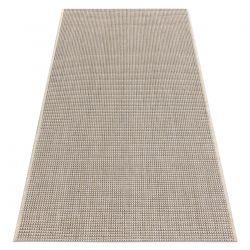 Fonott sizal floorlux szőnyeg 20580 egyszerű, egyszínű - pezsgő / tópszín