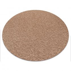 Carpet round ETON beige